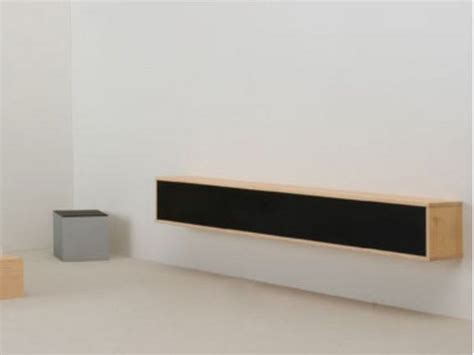 Horizontal wall cabinet with sliding doors WANDREGAL By