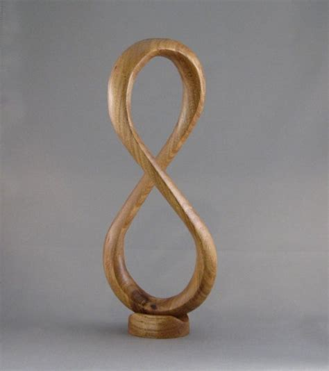 infinity woodworking elm wood infinity sculpture wooden treasures