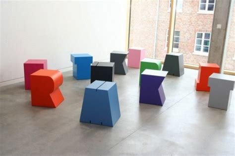 Can Tums Make Your Stool by Swissmiss Letter Stool