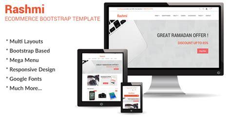 Rashmi Responsive Ecommerce Bootstrap Template Themes Codegrape Responsive Ecommerce Template Bootstrap