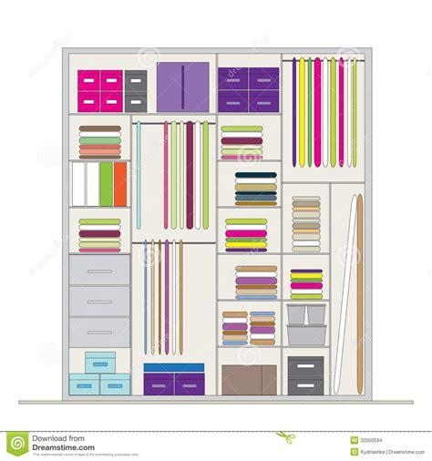Wardrobe Insides by Wardrobe Inside Illustration For Your Design Stock Vector Illustration Of Design