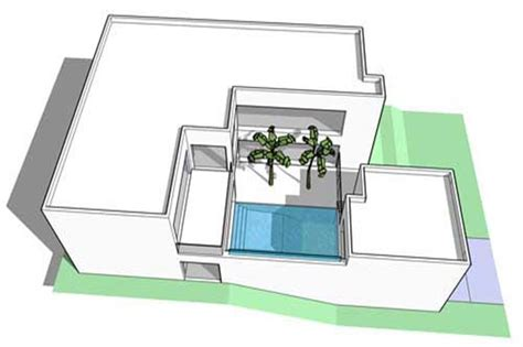 theplancollection com modern house plans modern house plan 6 bedrms 5 baths 4757 sq ft 116 1067