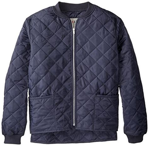 Mens Quilted Work Jackets by Work King S Quilted Freezer Jacket Navy Large Sports Apparel In The Uae See Prices