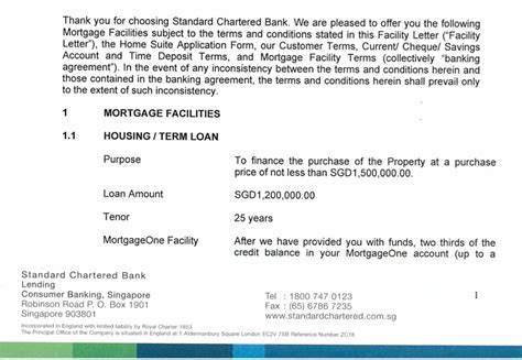 Loan Facility Letter Of Offer mortgage home loan terminology you need to i