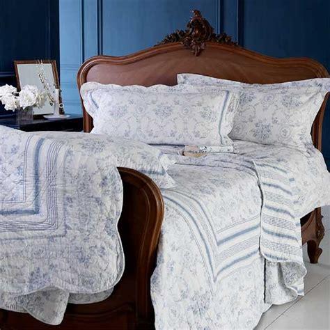 toile de jouy bed linen vienna toile de jouy 100 cotton duvet cover set white