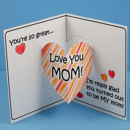 how to make 3d mothers day cards ideas to make mothers day cards craftshady craftshady