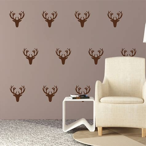 deer wall sticker deer wall decal kit stickers trendy wall designs