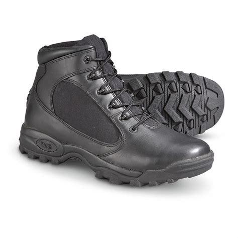 mens black tactical boots s matterhorn 174 mid height tactical boots black
