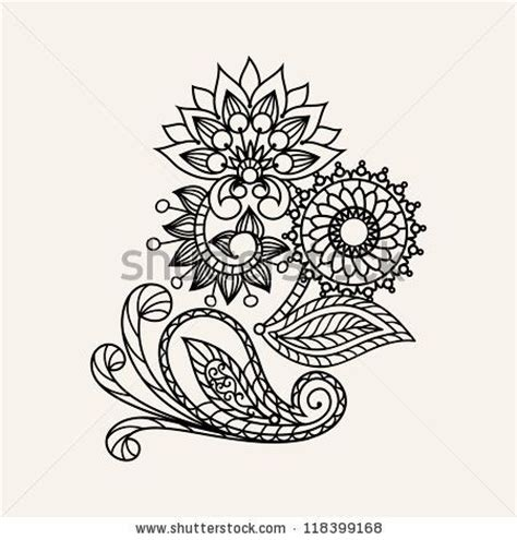 floral pattern hand drawing 20 best images about tattoos on pinterest sleeve henna
