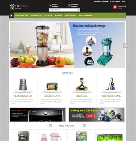 magento homepage template 65 best magento templates xdesigns