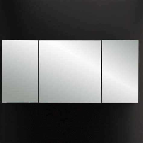 triple mirrored bathroom cabinet lacava plaza triple mirror medicine cabinet modern