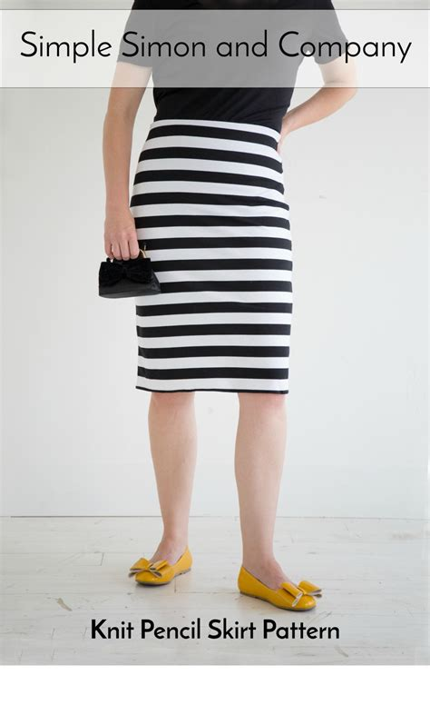 pattern for simple pencil skirt pencil skirt pattern simple simon and company