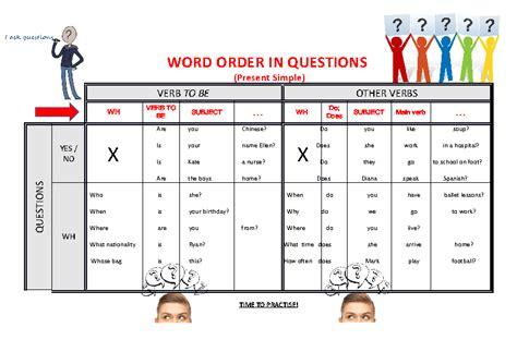 Word Order Worksheets Pdf by 101 Free Word Order Worksheets