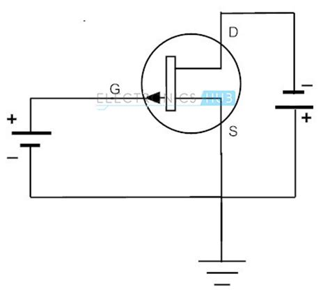 transistor jfet canal p fet as a switch working of mosfet or jfet as a switch