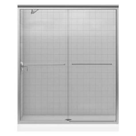 frameless shower doors home depot kohler fluence 59 5 8 in x 70 5 16 in frameless sliding