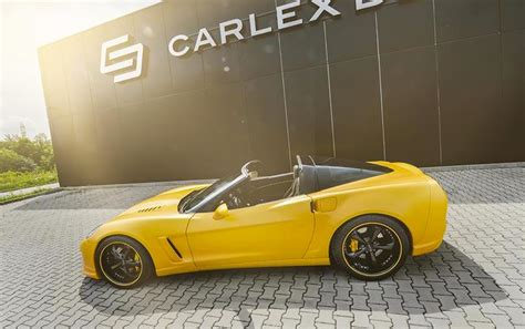corvette c6 yellow corvette c6 yellow line by carlex design