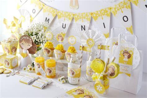 decoracion primera comunion varon como hacer guirnaldas para comunion nena dise 241 o im 225 genes
