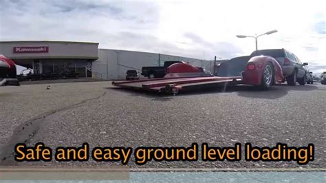 plans for drop deck motorcycle 83 low deck motorcycle trailer ground loading r free