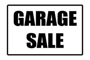 printable garage sale sign free pdf for garage sale