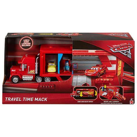 disney pixar cars 3 travel time mack transporter