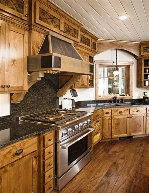lodge kitchen lodge kitchen designs home decor and interior design