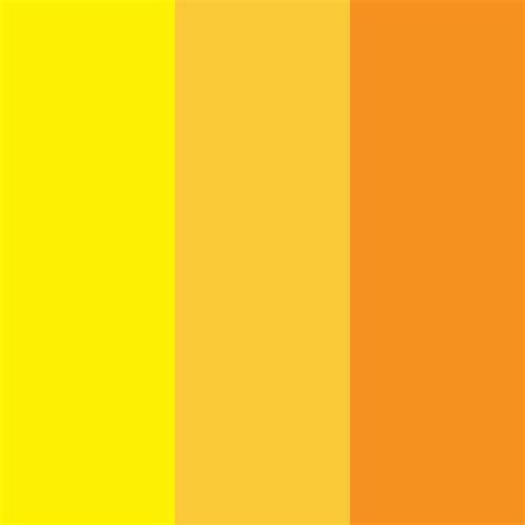 hues of orange analogous hues yellow yellow orange orange color