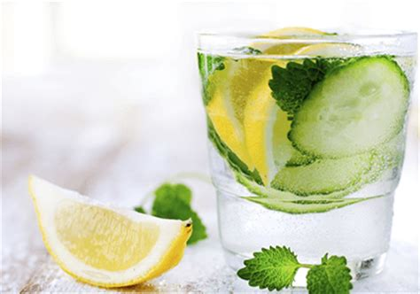 Ingredients For Lemon Water Detox by Lemon Mint Cucumber Detox Water