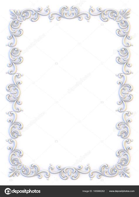cornici per inviti cornici d epoca ornamentali modello di disegno floreale