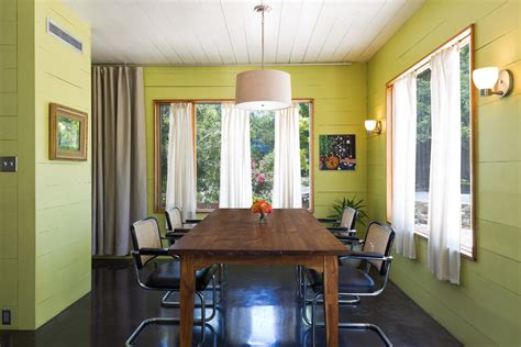 living small eclectic dining room austin  rick