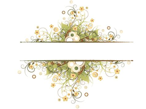 Vintage Floral Frame Backgrounds Border Frames Templates Free Ppt Backgrounds And Powerpoint Templates Borders