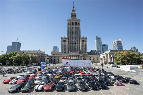 Porsche W Polsce by Pierwsze W Polsce Porsche Parade Zakończone Wiadomości