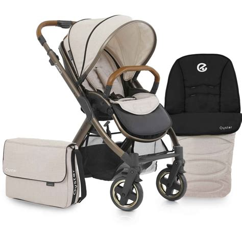 Stroller Babystyle Oyster 2 Babystyle Oyster 2 City Bronze Stroller From W H Watts