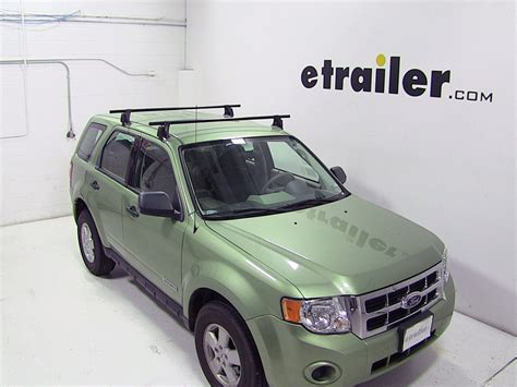 yakima roof rack for 2008 escape by ford etrailer