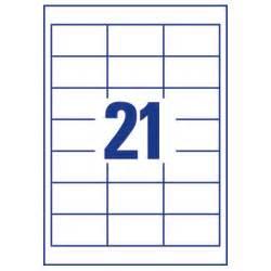 avery l7160 40 address labels laser 21 per sheet 63 5x38