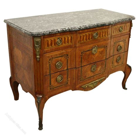 commode atlas marble top walnut commode antiques atlas