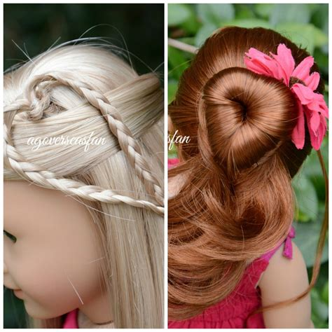hairstyles for american girl doll videos american girl doll hairstyles inspired by