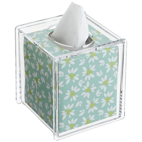 Kitchen Countertop Dimensions Acrylic Hinged Lid Boutique Tissue Box The Container Store