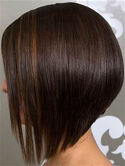 hair style short in back long in front short bob hairstyles back view style onsite longer in
