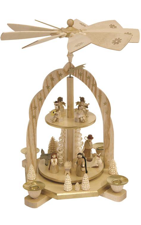 Modern Cuckoo Clock by Richard Glaesser 16213 German Christmas Pyramid Free Shipping