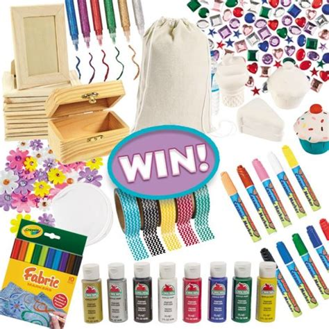 Oriental Trading Giveaway - thrifty momma ramblings oriental trading crafts box giveaway