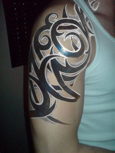 tribal half sleeve tattoo 32 amazing tribal sleeve tattoos