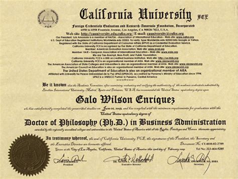 List Of In California For Mba by Dba Your Terminal Degree In Business Pebble
