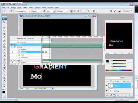 tutorial photoshop cs3 banner photoshop cs3 cs4 tutorial how to make animation text