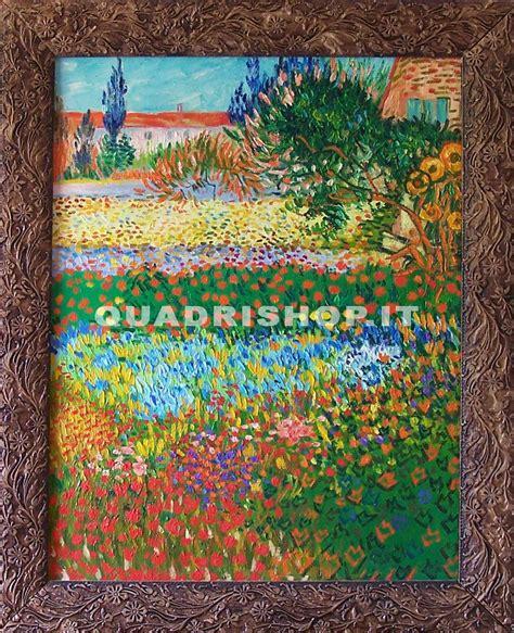 giardino in fiore falsi d autore quadro quot giardino in fiore quot di gogh
