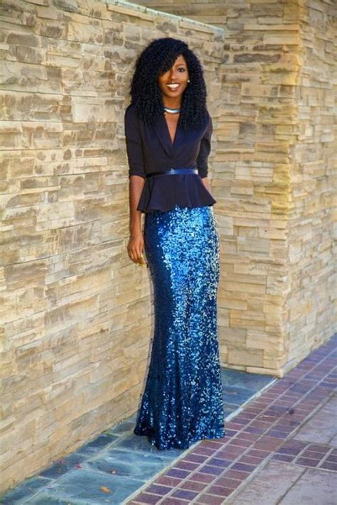 how to rock the sequin skirts just trendy