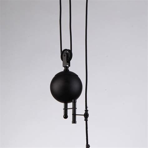 jemmy ho vintage industrial pulley pendant light warm loft