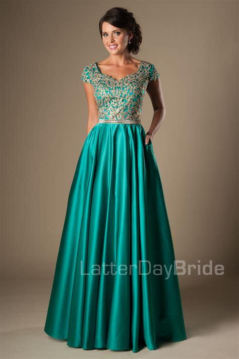 Modest Dresses by Modest Prom Dresses Emily Black