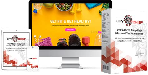 Dfy Chief Review Over 12 Ready Made Website Templates Ready Made Website Templates