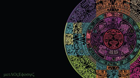 imagenes aztecas hd wwwallpaper blogspot mx calendario azteca color