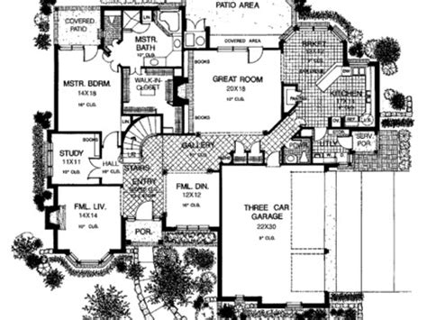 provincial floor plans country chateau floor plans country house